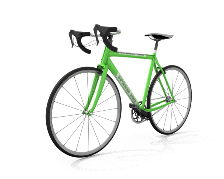 Bike 3d Model Software Used Blender b