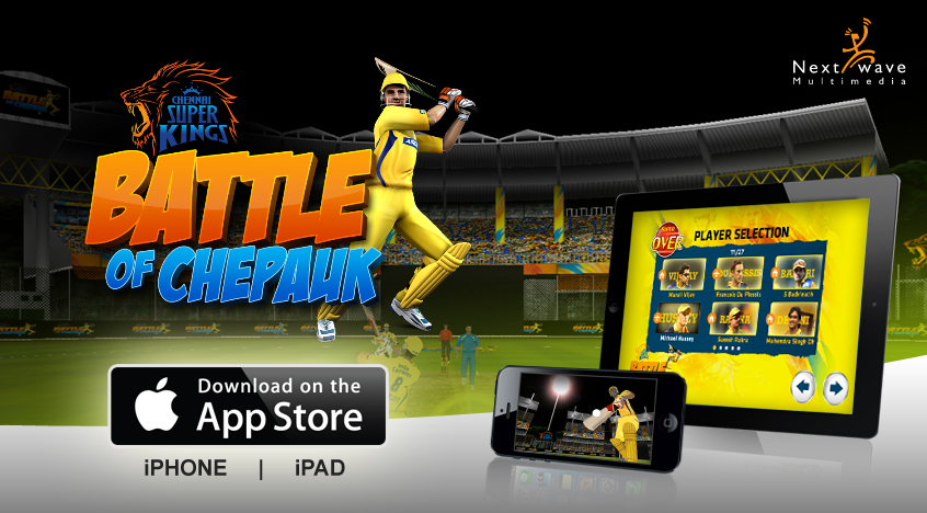 Battle of Chepauk, the Chennai Super Kings Game is now Launched in