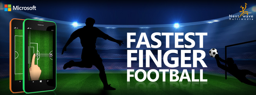 Fastest Finger Foootball - Facebook cover